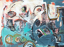 Content by Theresa Vandenberg Donche (Mixed-Media Painting)