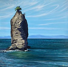 Siwash Rock by Hunter Jay (Acrylic Painting)