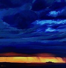 Sunset at Maricopa by Hunter Jay (Acrylic Painting)