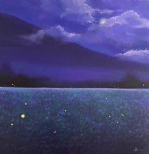 Firefly Night by Hunter Jay (Acrylic Painting)