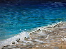Ocean Blue by Hunter Jay (Acrylic Painting)