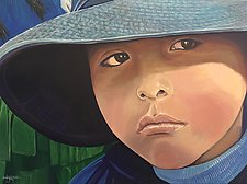 Urubamba Boy by Hunter Jay (Acrylic Painting)