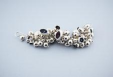 Nebula Bracelet III by Elizabeth Earle (Silver Bracelet)