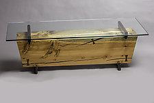 Beam Coffee Table by Craig Demmon (Wood Coffee Table)
