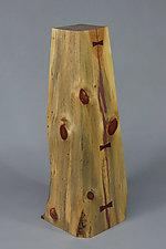 Large Display Pedestal by Craig Demmon (Wood Pedestal)