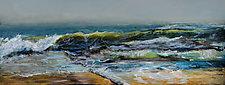 Oregon Ocean by Heather Fields (Acrylic Painting)