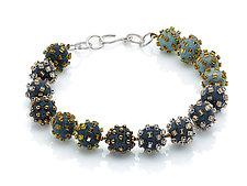 Beaded-Felt Necklace by Linda May (Bead & Felt Necklace)