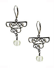 Doodle Chandelier Earrings II by Lori Kaplan (Jewelry Earrings)