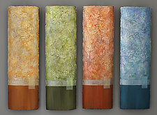 Seasons of Reflections by Jeanne Petrosky and Dennis Guzenski (Mixed-Media Painting)