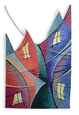 Talk to Me by Rita Gekht (Fiber Wall Hanging)