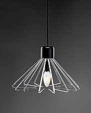Triangulo FRP by Michael Curran  Hall (Art Glass Pendant Lamp)