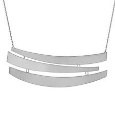 Guggenheim Rotunda Necklace by Andrea Panico (Silver Necklace)