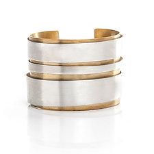 Guggenheim Rotunda Cuff by Andrea Panico (Silver Bracelet)