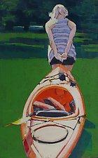 Creek's Up by Nancy Grist (Giclee Print)