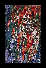 Fragments of Time by Joy Saville (Fiber Wall Hanging)