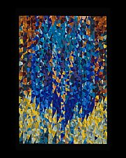 Waters of Grace by Joy Saville (Fiber Wall Hanging)