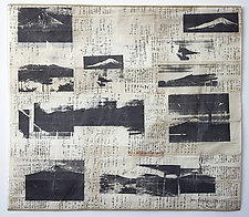 Observe Mt. Fuji by Joan Schulze (Fiber Wall Hanging)