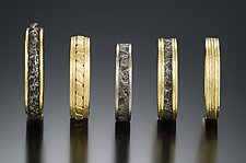 Wedding Bands by Robin Cust (Gold & Steel Wedding Band)