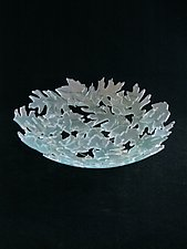 Leaf Bowl by Rick Melby (Art Glass Bowl)