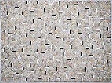 Earth Quilt #24: Lines II by Meiny Vermaas-van der Heide (Fiber Wall Hanging)