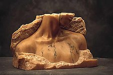 Lourdes by Gerald Siciliano (Stone Sculpture)
