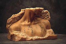 Lourdes by Gerald Siciliano (Stone Sculpture)