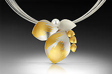 In Bloom Necklace by Judith Neugebauer (Gold & Silver Necklace)