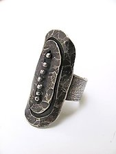 Silver Shield Ring by Lauren Passenti (Silver Ring)