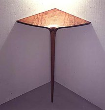 Corner Table by David N. Ebner (Wood Table)