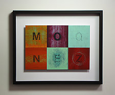 Alphabet Quilt Color Study Series 101 by Mark Thomas (Acrylic Painting)
