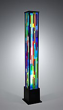 Uplift by Helen Rudy (Art Glass Floor Lamp)