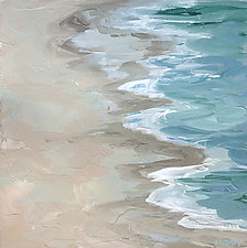 Edge Patterns by Marsh Scott (Acrylic Painting)