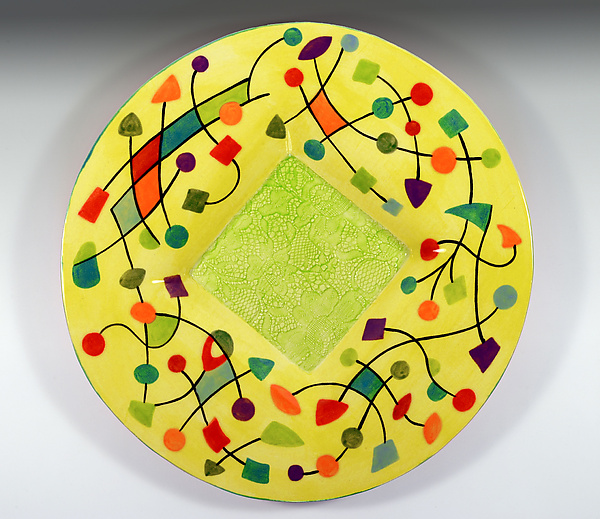 Abstract Small Platter
