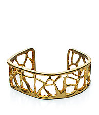 Short Triangle Cuff in Brass by Natalie Frigo (Brass Bracelet)
