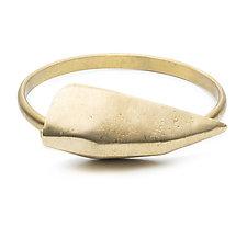 Largest Dagger Cuff by Natalie Frigo (Brass Bracelet)