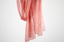 Silk Mist Chiffon Scarf in Blush by Yuh  Okano (Silk Scarf)