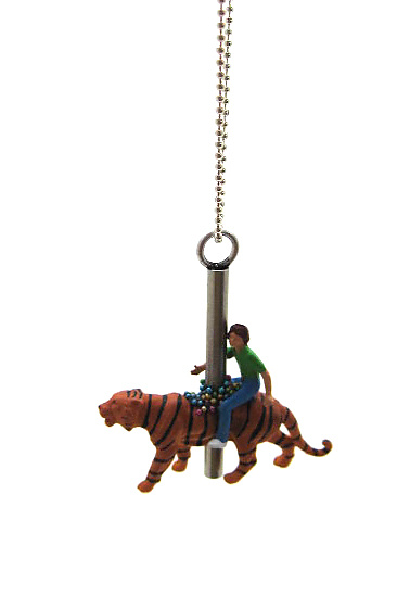 Tiger Carousel Necklace