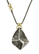 Gem Drop Necklace by Sophie Hughes (Gold & Silver Necklace)