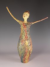 First Blush by Patty Carmody Smith (Mixed-Media Sculpture)