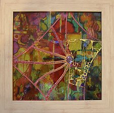 The Webs We Weave by Patty Carmody Smith (Art Glass Mosaic)