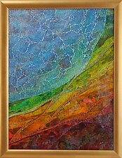Tierra del Oro by Patty Carmody Smith (Art Glass Mosaic)