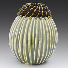 Autumn Harvest by Valerie Seaberg (Ceramic Vessel)