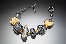 Rock Candy by Robin  Sulkes (Gold & Silver Bracelet)