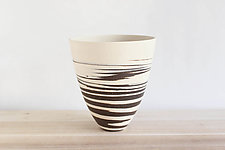 Tall Strata Bowl by Julia Paul (Ceramic Vessel)