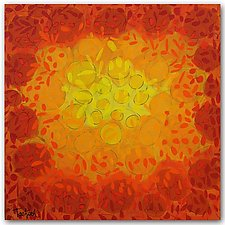 Sunburst by Lynne Taetzsch (Acrylic Painting)