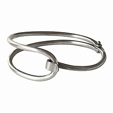Cleo Cuff in Silver by Thomas Mann (Silver Bracelet)