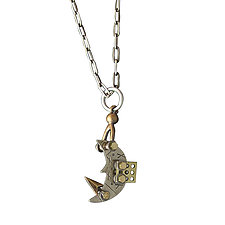 Over The Moon Necklace by Thomas Mann (Metal Necklace)