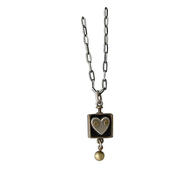 Heart In A Box Necklace