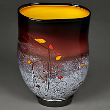 Bold Berry by Eric Bladholm (Art Glass Vessel)