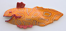 Australian Porgy by Byron Williamson (Ceramic Wall Sculpture)